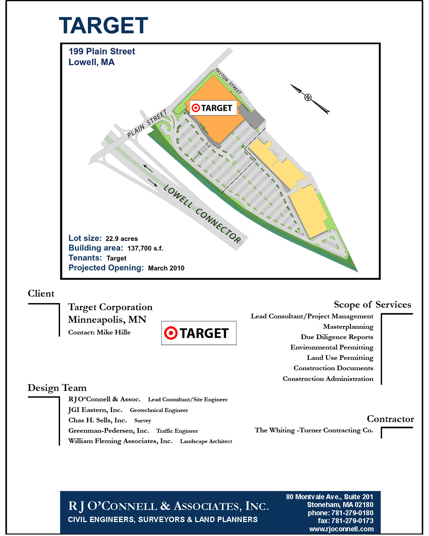 Lowell target