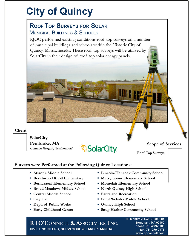 Quincy - Roof Top Survey