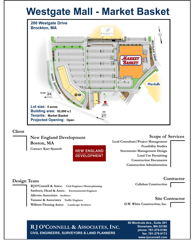 Brockton, MA – Westgate Mall – Market Basket | RJO'Connell